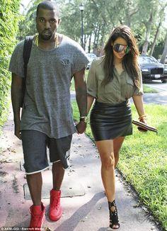 2d959dfacc7 Kim Kardashian  hunts for a  10m Miami house  with Kanye West