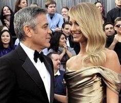 Stacy Keibler, novia de George Clooney: 'Por el momento, ni pienso en boda ni en niños' #famosos #actores #people #celebrities