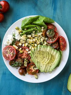 The quintessential summer salad that is loaded with flavor!