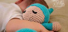 Sleepyhead amigurumi free pattern with video tutorial