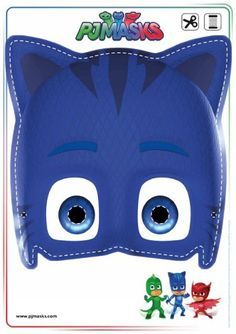 Looking for PJ Masks Games & Activities? Print out these Owlette, Gekko, and Catboy masks free! Pj Masks Printable, Printable Halloween Masks, Party Printables, Free Printables, Mascaras Pj Masks, Pj Masks Games, Pjmask Party, Ideas Party, Party Games