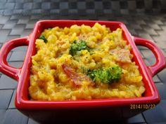 南瓜培根燉飯食譜、作法 | 就醬煮的多多開伙食譜分享