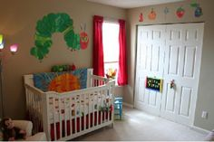 the very hungry caterpillar nursery - good gender neutral theme