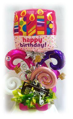 #Arreglo #Especial de #Cumpleaños con #Chocolate #Gigante!! www.globocentro.com.gt