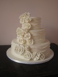 Simple Elegant Wedding Cakes uploaded by cakeideas at July 21, 2014 in category Wedding Cakes Design. Description from cakeideas.net. I searched for this on bing.com/images