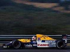 Williams FW 14B Renault (1992)  Diseño Patrick Head, Adrian Newey y Eghbal Hamidy  Pilotos: Nigel Mansell y Riccardo Patrese