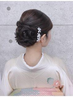 Hair Arrange, Yukata, Kimono Fashion, Wedding Hairstyles, Salons, Elegant, Hair Styles, Bridal Hairstyles, Boyfriends