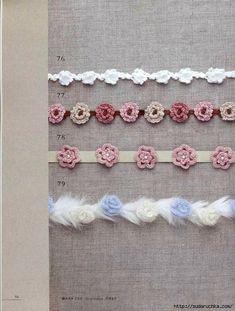 """""""CROCHET rose pattern"""". Японский журнал по вязанию крючком.. Обсуждение на…"""
