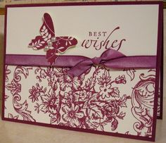 Bella Toile and Great Friend by mnfroggie - Cards and Paper Crafts at Splitcoaststampers