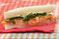 Sandwich de Atún con zanahoria y berro - revistamaru.com