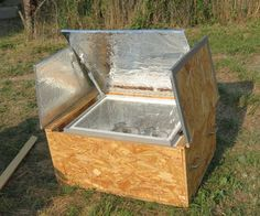 This solar oven is made out of materials that are very easily available and not very expensive either. Most materials used to build this one were scra...