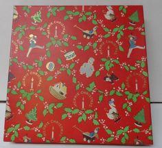 Vintage Dept Store Christmas Gift Box Carl Co Schenectady New York   eBay