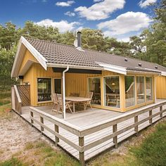 Vacation House in Nexø Cabin, Vacation, Bedroom, House Styles, Home Decor, Products, Room, Homemade Home Decor, Vacations