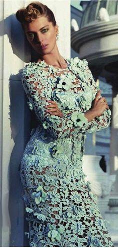 Daria Werbowy, Vogue Paris, Fashion <3