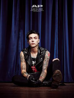 Andy Biersack of Black Veil Brides -- from AP 317 cover shoot