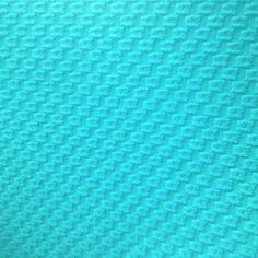 Novelty Piqué Matellassé Doubleknit - Scuba Blue - Gorgeous FabricsGorgeous Fabrics $12/yard