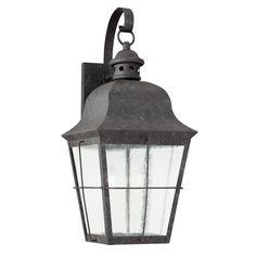 Seagull Lighting - Large LED Outdoor Wall Lantern