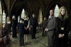 "The ""Dark Shadows"" movie cast."