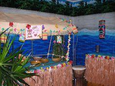 party,tahiti,anniverssaire,fête,décoration,bricolage,idée