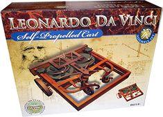 Leonardo da Vinci Autofahrzeug Modell Bausatz by EDU Toys