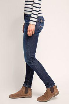 edc - Stretch-Jeans mit Klappentaschen im Online Shop kaufen