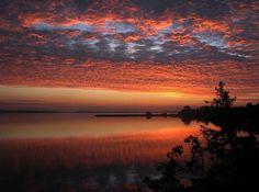 Cape Breton Sunrise  From Nova Scotia FB page Photo Credit: Phil Vogler D'Escousse, Isle Madame, Cape Breton