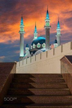 Qol Sarif Masjid in Kazan, Russia