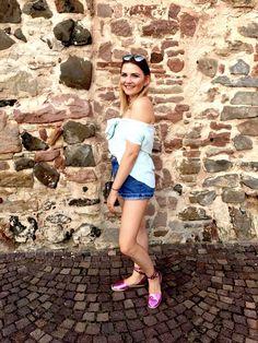 Bluse, Hemd, Wickelhemd, Fashion, Summer, Sommer, Elle Inspiration, OOTD, Look, Style, Mode,
