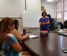 American Sign Language/Interpreter Education Program instructor Lori Matheny expressing her passion for serving others
