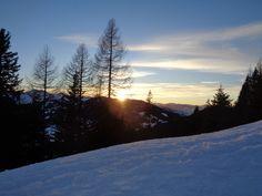 #sundowner #Sonnenuntergang #Erichhütte #Abendstimmung #Dienten am Hochkönig Snow, Mountains, Nature, Travel, Outdoor, Sunset, Outdoors, Naturaleza, Viajes