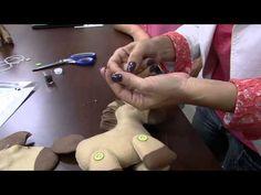 Mulher.com 17/09/2014 - Cavalinho Articulado Feltro por Karina Raszl - Parte 2 - YouTube