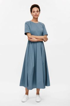 COS   Flared cotton dress
