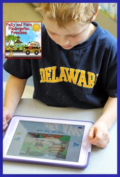 iPad Centers for SIght Words