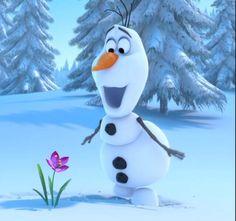 Frozen # I want a friend like Olaf