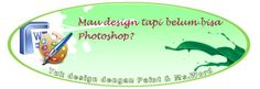 Design hanya dengan Ms.Word & Paint...? Bisa ko (^_^)