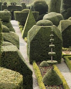 More extraordinary topiary at Levens Hall in the Kent Valley, Cumbria.  The park and gardens were laid out by Guillaume Beaumont between 1689 and 1712 have survived remarkably intact. #onthelist #garden #topiary #greengarden