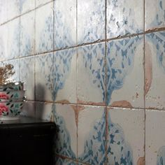 Bring a wonderful visual texture to your home by choosing this Artisan Azul Decor Ceramic Floor and Wall Tile from Merola Tile. Wall And Floor Tiles, Wall Tiles, Commercial Flooring, Shabby Chic Kitchen, Bohemian Kitchen, Stone Tiles, Stone Backsplash, Wall Patterns, Home Improvement