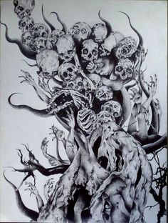 http://www.bing.com/images/search?q=Skull Drawings Demonic and Evil