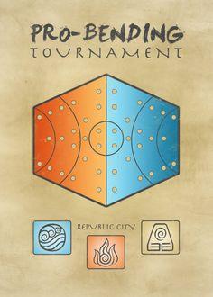 Pro-Bending Tournament   (Avatar: the Last Airbender)