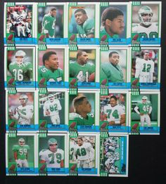 1990 Topps Philadelphia Eagles Team Set 19 Football Cards #PhiladelphiaEagles Eric Allen, Football Cards, Baseball Cards, Cris Carter, Eagles Team, Philadelphia Eagles, Ebay, Soccer Cards
