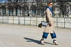 Tommy Ton Shoots the Best Street Style at the Fall Shows Tommy Ton, Fendi Bag Bugs, Blue Jean Outfits, Fashion Week 2015, Fashion Weeks, Spring Street Style, Cool Street Fashion, Autumn Fashion, Paris Fashion