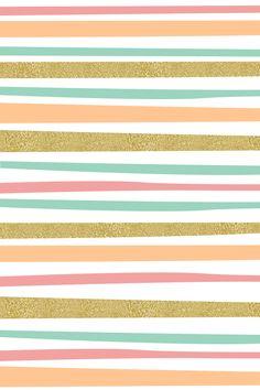Lindo papel decó de rayas
