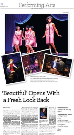 Theater Review: 'Beautiful: The Carole King Musical'|Epoch Times #newspaper #editorialdesign