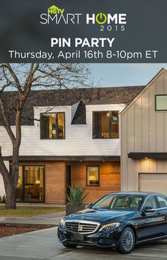 Join us on Thursday, April 16th from 8-10 p.m. EST right here on Pinterest to get an exclusive look at the tech-friendly design of HGTV Smart Home 2015, located in Austin, Texas!
