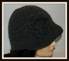 sombrero a crochet para hombre