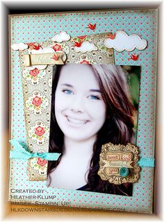 Stampin' Up!  Scrapbook  Heather Klump