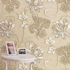 Vintage Europe Floral 3D papel de parede Roll Home Decor Wallpaper DZK51     Tag a friend who would love this!     FREE Shipping Worldwide     Buy one here---> http://onlineshopping.fashiongarments.biz/products/vintage-europe-floral-3d-papel-de-parede-roll-home-decor-wallpaper-dzk51/