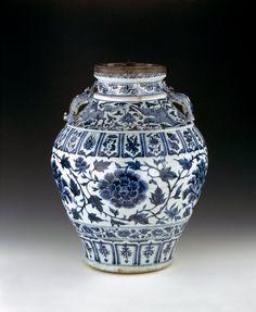 Wine Jar (Guan)    China, Yuan Dynasty    The British Museum