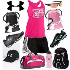 Go pink! i love under armour!