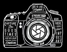 Men's T Shirt Camera- Photography Artist- skatch Print- Cotton- Hipster Tee-photography vintage art printed t shirt S-XXL - Tshirt Photography, Quotes About Photography, Camera Photography, Artistic Photography, Vintage Photography, Yearbook Shirts, Camera Art, Camera Drawing, Camera Lens